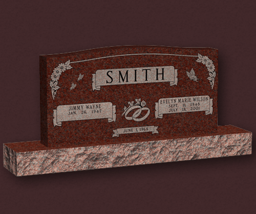 Personalized Memorials - Smith JW EMW | Austin Memorial Company